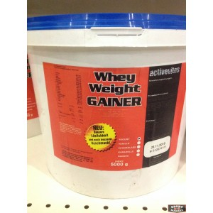 Whey weight gainer Activevites 5 kg