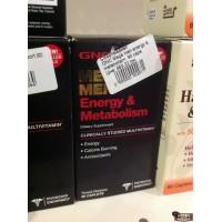 Mega men energy & metabolisim GNC 90 caps