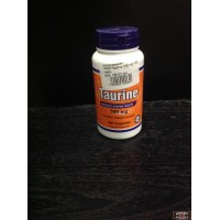 Taurine 500 mg NOW 100 caps Аминокислоты