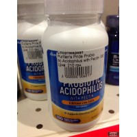 Probiotic Acidophilus with Pectin Puritan's Pride 100 caps