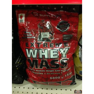 Extreme Whey Mass Supplemax  6,8 kg
