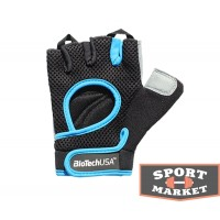 Budapest Bio Tech black/cyan blue Biotech USA